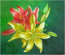 Květiny - Vůně léta, obrazy ručně malované