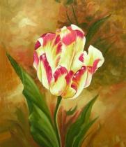 obrazy, reprodukce, Tulipán
