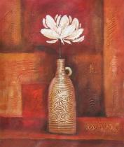 Květiny - Usměvavý život, obrazy ručně malované