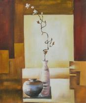 Květiny - Japonská květina, obrazy ručně malované