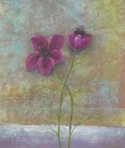 Květiny - Tvrdý život, obrazy ručně malované