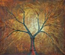 obrazy, reprodukce, Strom v jeseni
