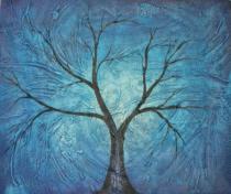 obrazy, reprodukce, Strom v jesene II.