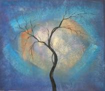 obrazy, reprodukce, Kmeň stromu II.