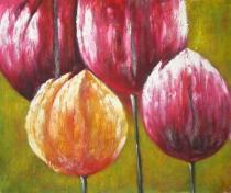 bestseler: Štyri tulipány