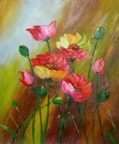 obrazy, reprodukce, Kvetinové sestry