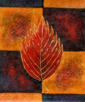 obrazy, reprodukce, List ohňa
