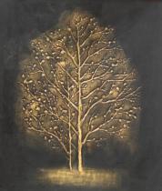 obrazy, reprodukce, Stromy