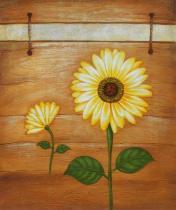 Slunečnice - Slunečnice, obrazy ručně malované