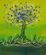 obrazy, reprodukce, Strom radosti