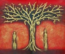 obrazy, reprodukce, Strom Adama a Evy