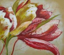 obrazy, reprodukce, Detail kvetu