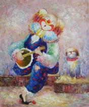 Pro děti - Představení, obrazy ručně malované
