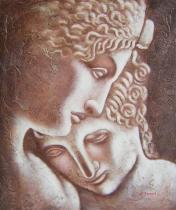 obrazy, reprodukce, Důvěra