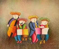 Pro děti - Hudební představení, obrazy ručně malované