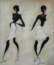 bestseler: Dve tmavé ženy