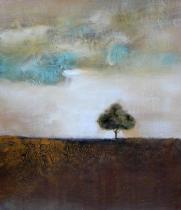 obrazy, reprodukce, Jeden strom