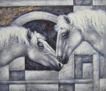 Zvířata - Tajemství, obrazy ručně malované