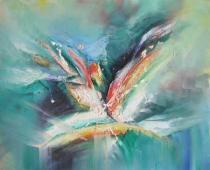 obrazy do bytu - obraz Láska - obrazy ručně malované