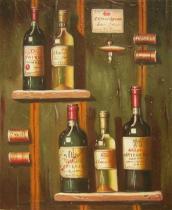 Vázy a nádoby - Něco k pití?, obrazy ručně malované