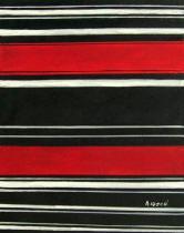 Abstraktní obrazy - Červená a černá, obrazy ručně malované