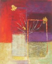 Abstraktní obrazy - Změna, obrazy ručně malované