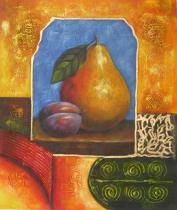 Zátiší - Ovoce, obrazy ručně malované