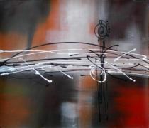 obrazy do bytu - obraz  - obrazy ručně malované