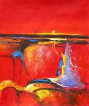 Abstraktní obrazy - Fantazie, obrazy ručně malované