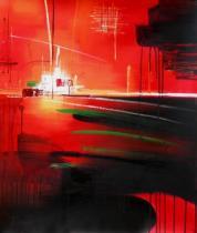 Abstraktní obrazy - Naděje, obrazy ručně malované