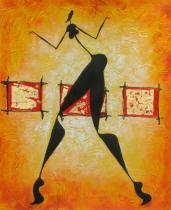 obrazy, reprodukce, Tanec o samotě