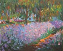 Claude Monet - Nádherné místo, obrazy ručně malované
