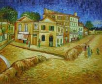 Vincent Van Gogh - Dům hrůzy, obrazy ručně malované
