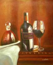 Vázy a nádoby - Tokay, obrazy ručně malované