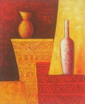 Vázy a nádoby - Perský porcelán, obrazy ručně malované