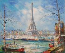 obrazy, reprodukce, Paříž