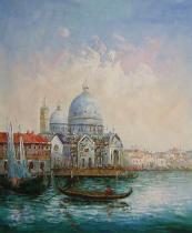 obrazy, reprodukce, Krása Benátek