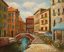 obrazy, reprodukce, Ulička Benátek