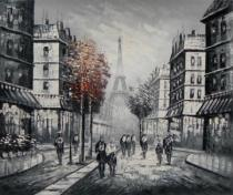 bestseler: Ulice s červenými stromami