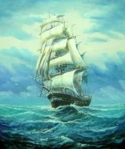 bestseler: Plachetnice na moři