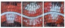 Obrazové sety - Abstrakce cesta, obrazy ručně malované