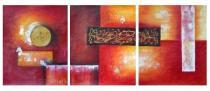 obrazy do bytu - obraz Sluneční den - obrazy ručně malované