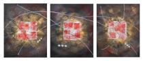 Obrazové sety - Obraz abstrakce, obrazy ručně malované