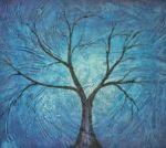 obrazy, reprodukce, Strom v podzimu II