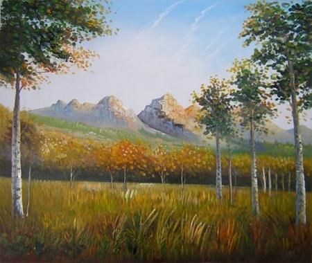 obraz Dálné hory