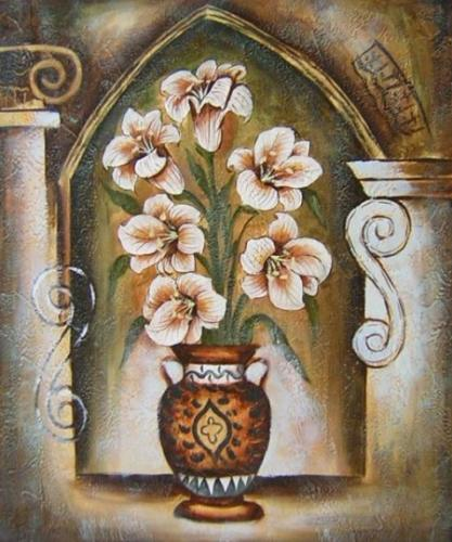 obraz Broskvové květy