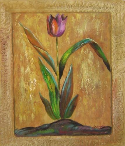 obraz Luční tulipán