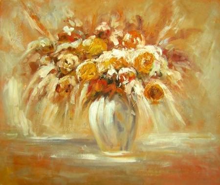 obraz Suché kvety