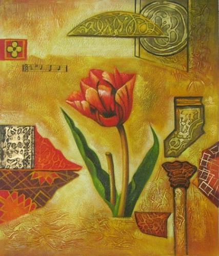 obraz Tulipán na poušti