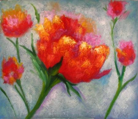 obraz Pár květů